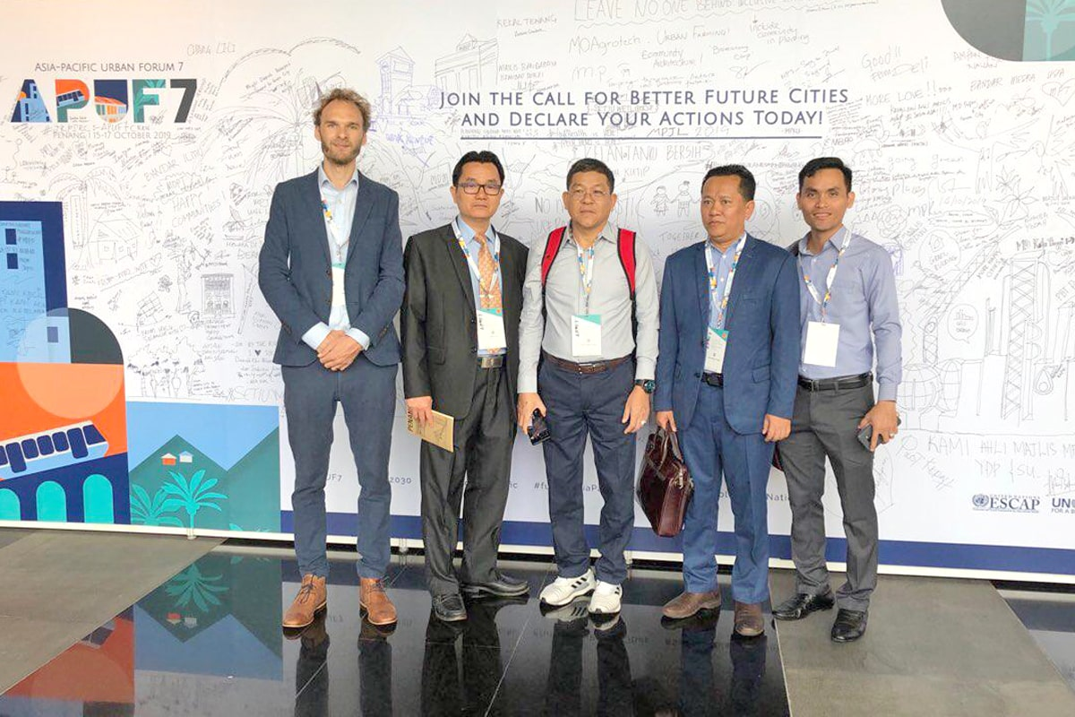 PolyUrbanWaters at launch of Penang Platform for Sustainable Urbanization