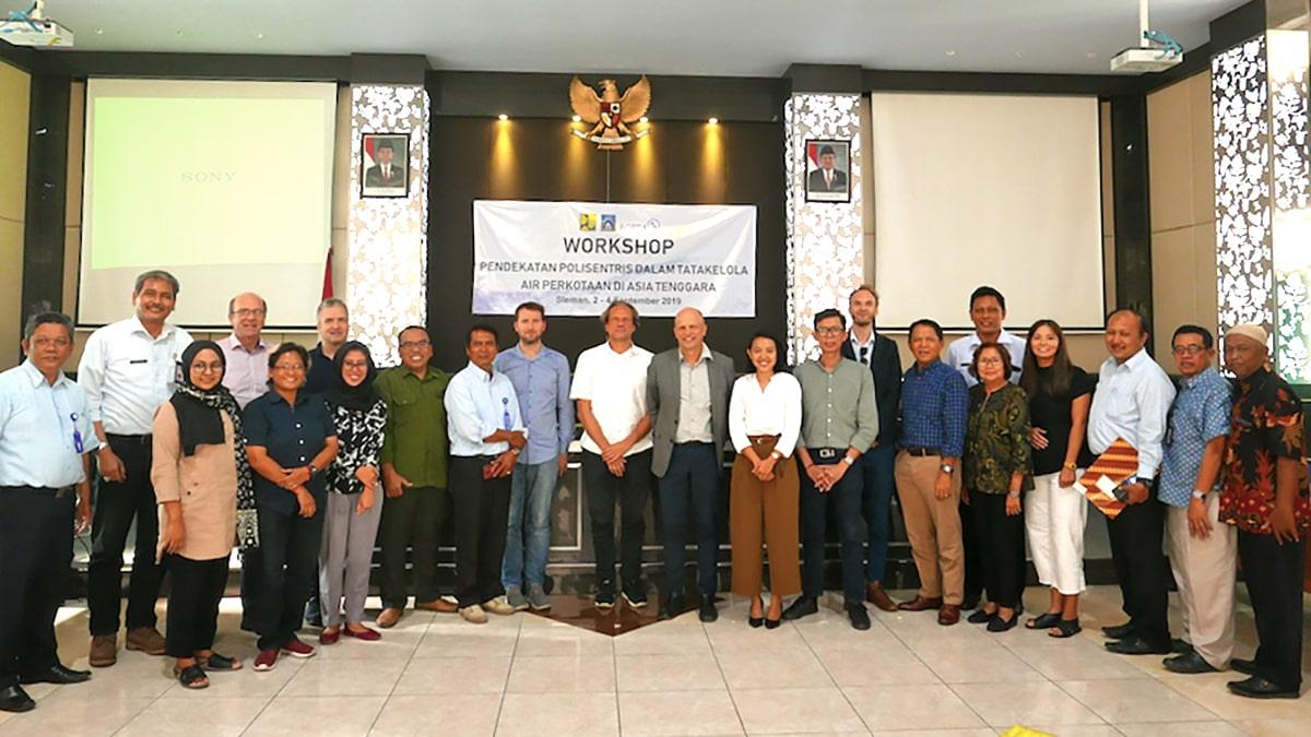 PolyUrbanWaters project kick-off in Sleman, Indonesia