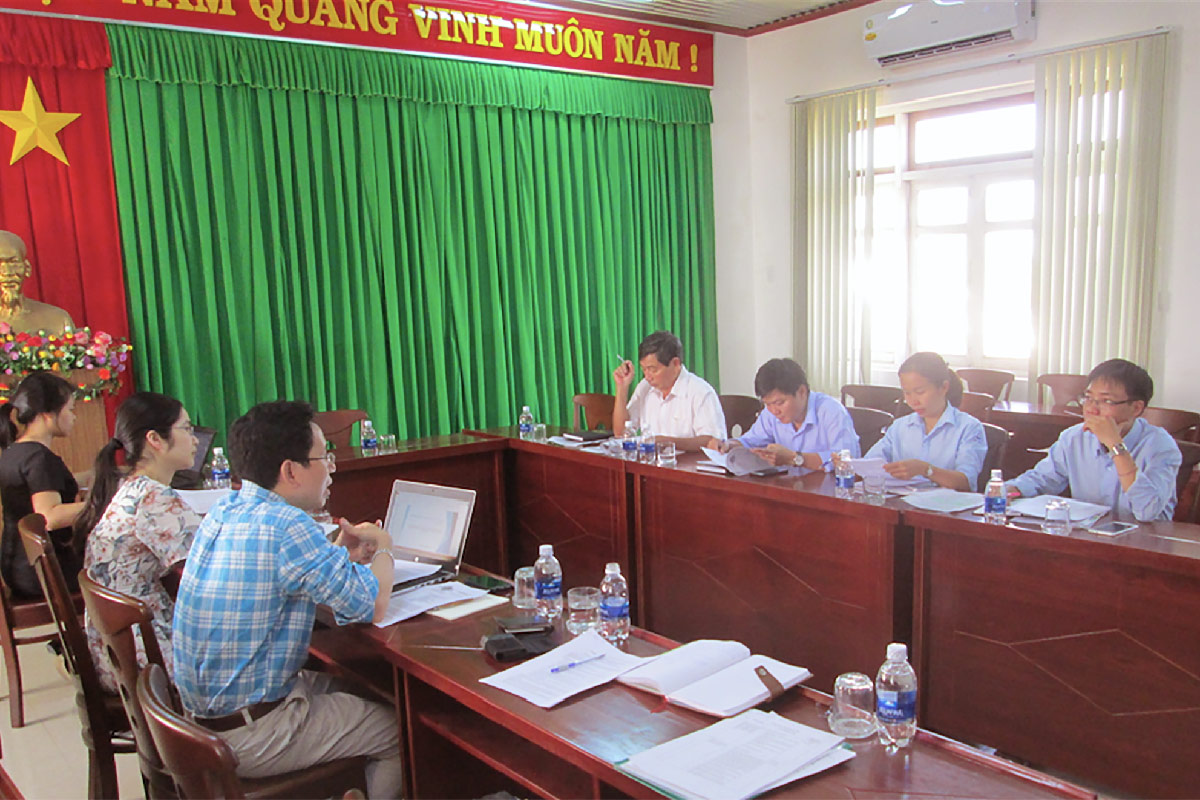 Vietnam Academy of Water - PolyUrbanWaters study group