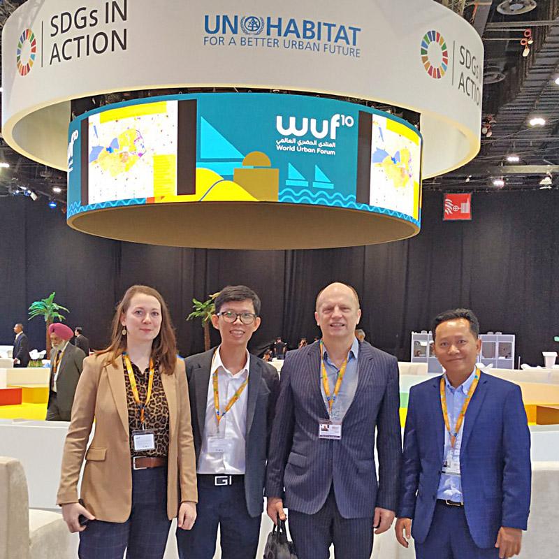 World Urban Forum 10: PolyUrbanWaters partners