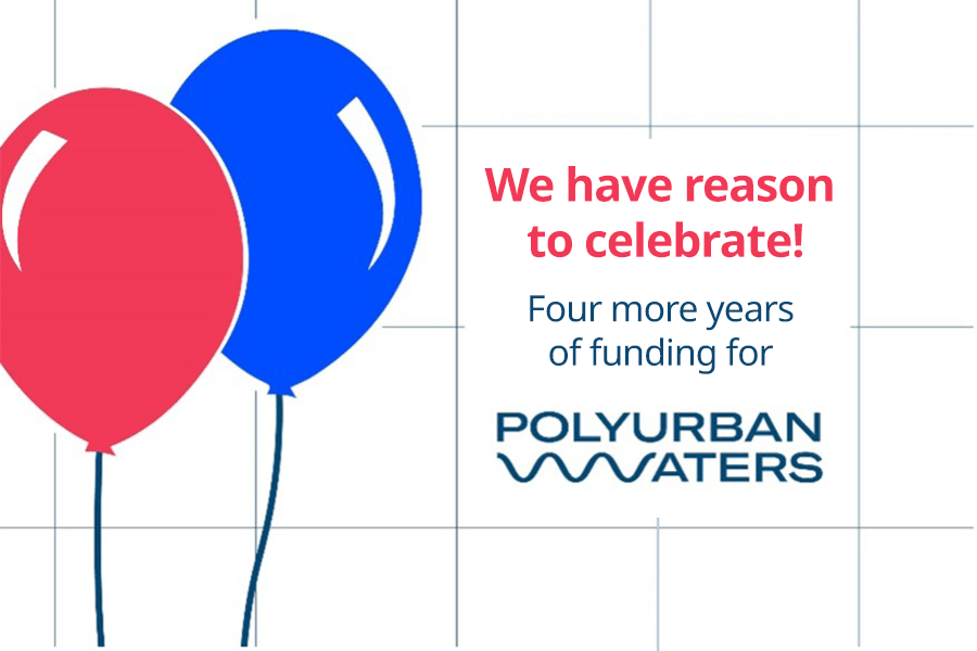 Announcement: Four more years of funding for PolyUrbanWaters
